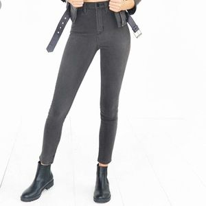BDG Jeans Gray Skinny 27 High Rise Waisted Urban